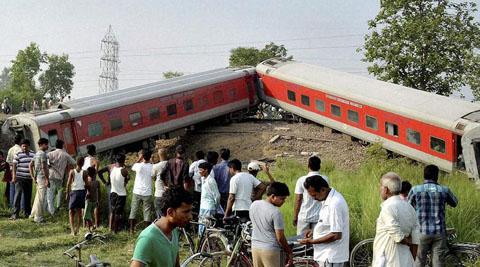 New Delhi-Dibrugarh Rajdhani Express Derails in Bihar, 4 Killed