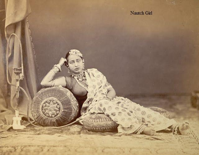 Indian wardrobe in 1860′s