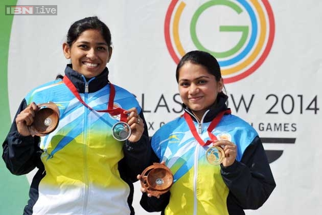 Indian shooters shine on Day 3, win five medals