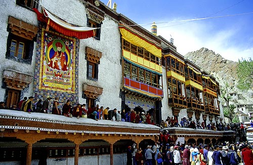 Hemis Monastery where the festival will be held on July 7th & 8th