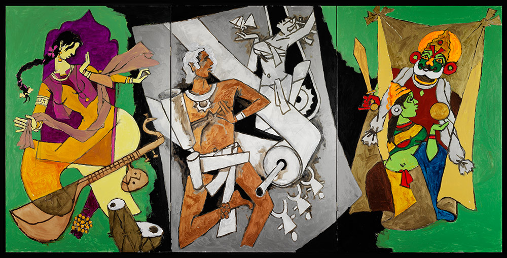 M.F. Husain, Indian Dance forms, 2008-2011