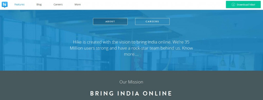 Hike – A Great Solution to bring India Online
