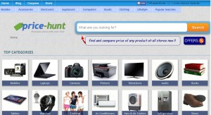 Price-Hunt Enables Price Comparison for various Products