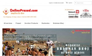 Get Prasad easily with OnlinePrasad.com
