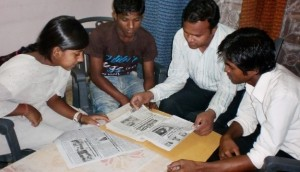 Balaknama, a quarterly newspaper on the lives of street children is run by slum kids in New Delhi. These kids focus on various problems faced by street kids including police brutality, drug abuse, sexual abuse, child marriage and all other issues in their daily lives. Chetna – an NGO pays the production costs for this newspaper and offers education and training for the kids who write as journalists for this newspaper. They also receive stipends for their travel and other expenses to cover stories. The novice journalists of Balaknama earn money by doing works like washing cars, working at hotels, and collects trash from the street. Though only half of slum population in New Delhi is literate, Balaknama has a great popularity due to its real stories contributed by street children from their personal experiences. Others focus on good deeds that street kids have done. The readership has been increasing and at present it is in tens of thousands. This newspaper is printed in Hindi.