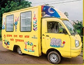 Library on Wheels in Jharkhand
