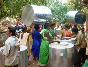 Grain Bank Satisfies the Hunger needs of Kotrakund Villagers