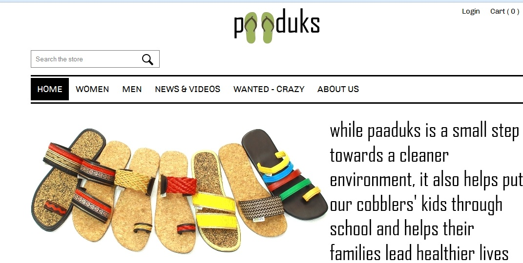 Paaduks – An Eco-friendly Footwear