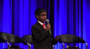 8-year Old CEO speaks on Cyber Security
