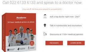 MeraDoctor – Great Health Solution via Phones