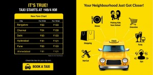 TaxiForSure, the service which aggregates Cab Services