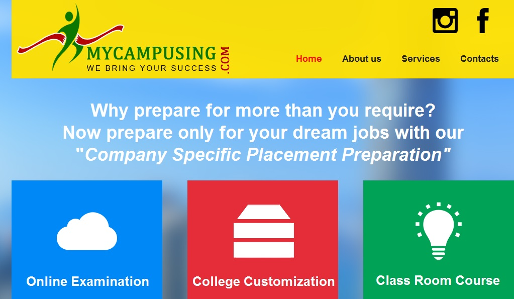 myCampusing – A Company-specific Placement Preparation Solution