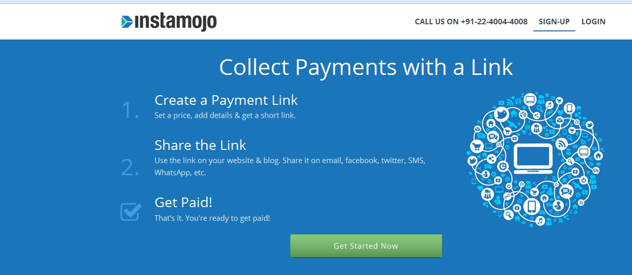 Instamojo – An instant E-commerce Payment Solution