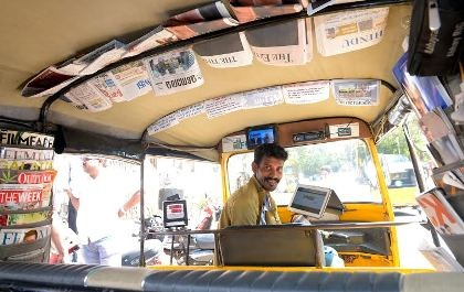 Annadurai – Autor-rickshaw Driver with Creativity