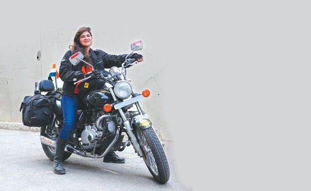 Roshni Sharma Expedites 4,000 km on Bike alone