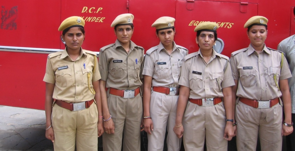 Female Fire Fighters of Rajasthan