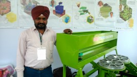 A machine that changed the lives of ginger and turmeric farmers