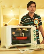 Meet Abhishek who makes time bombs, an Automatic Food maker, A robot