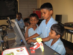 Government school kids becoming robotics champions
