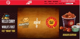 Hello Curry – World's first fast Indian food Chain
