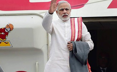 PM Modi thanked two young women from Varanasi