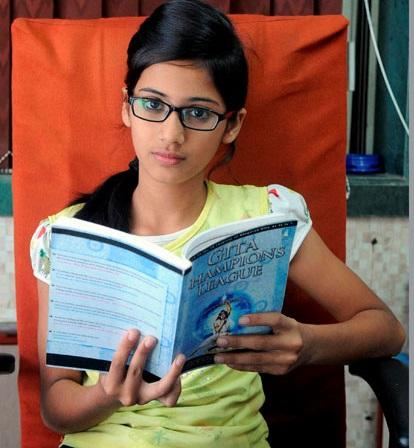 12 year old Muslim girl wins Gita Champion League