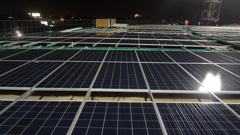 Chinnaswamy stadium in Bengaluru