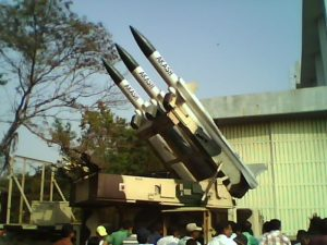 Missile Aakash inducted by DRDO