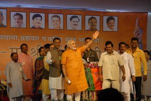 72 percent of respondents satisfied with Modi's government