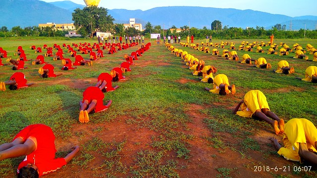 Yoga day set to be a Guinness record