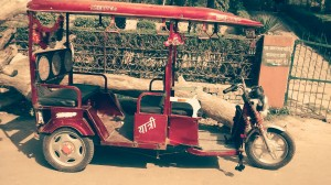 Electric rickshaws saving the Taj