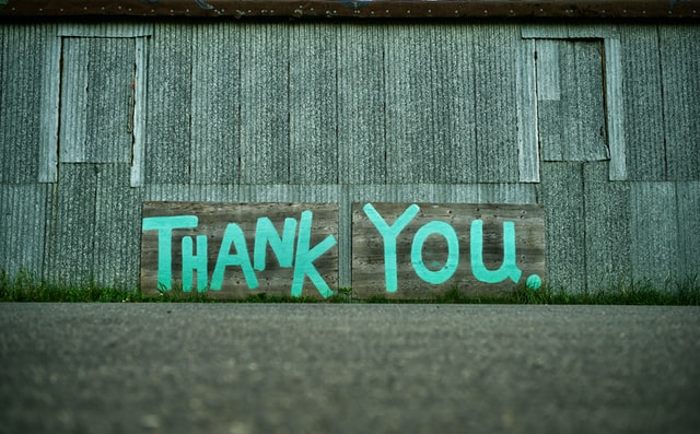 The 'Thank you' culture