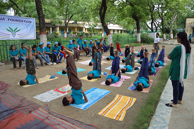 Muslim couple's NGO to hold yoga camp in UP