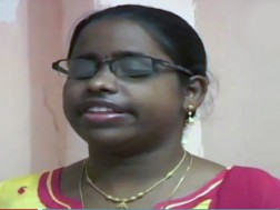 Blind girl cracks IFS