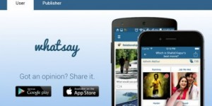 Whatsay – A Social Polling App