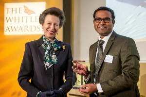 Indian scientist wins the Whitley Award