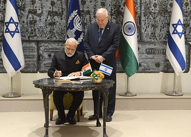 A shift in India's Israel Policy