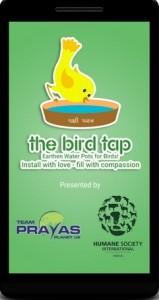 App to help thirsty birds