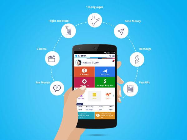 Mobile wallet app 'buddy' by SBI