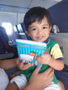 Indian doctor saves toddler on plane