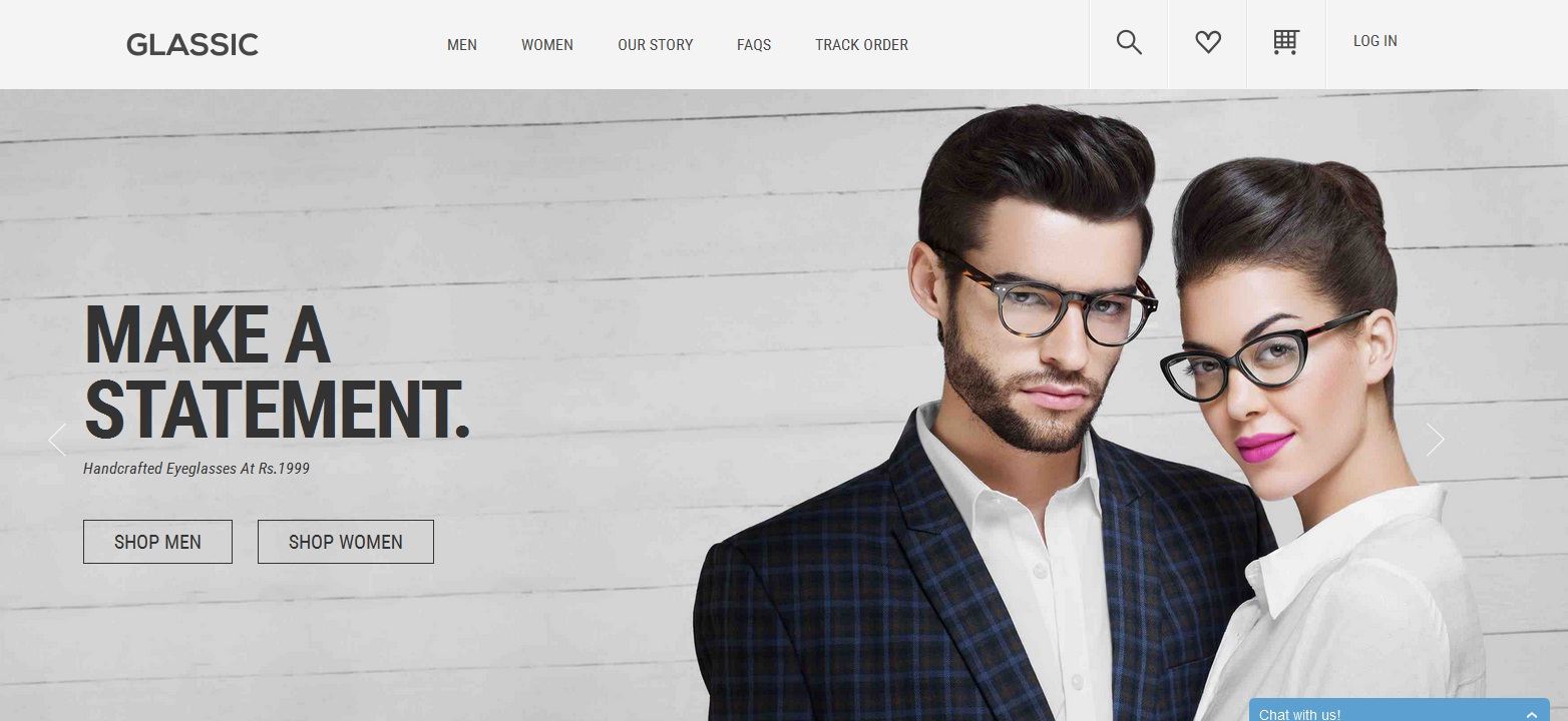 Glassic – Virtual try on