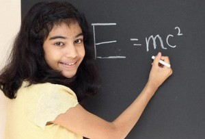 12 year Indian origin girl with more IQ than Einstein