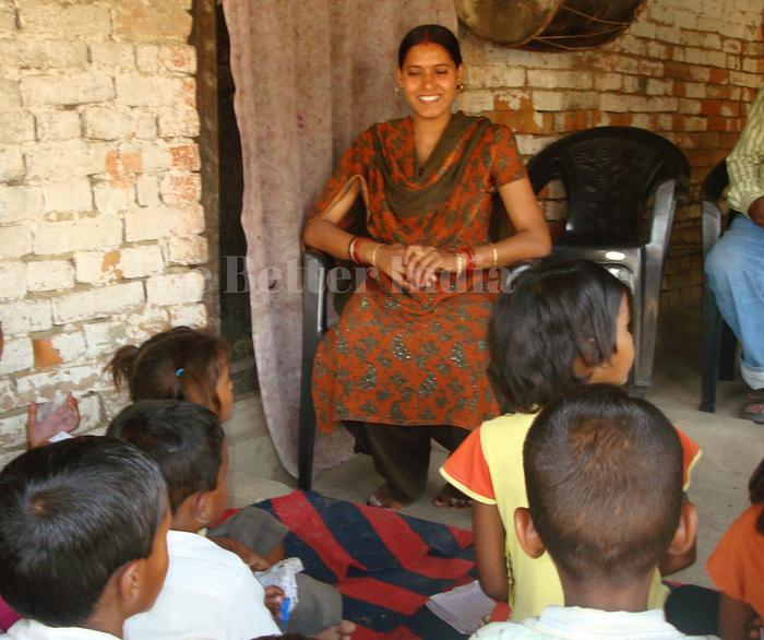 Changing a village through education