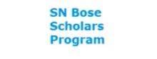SN Bose Scholars Program