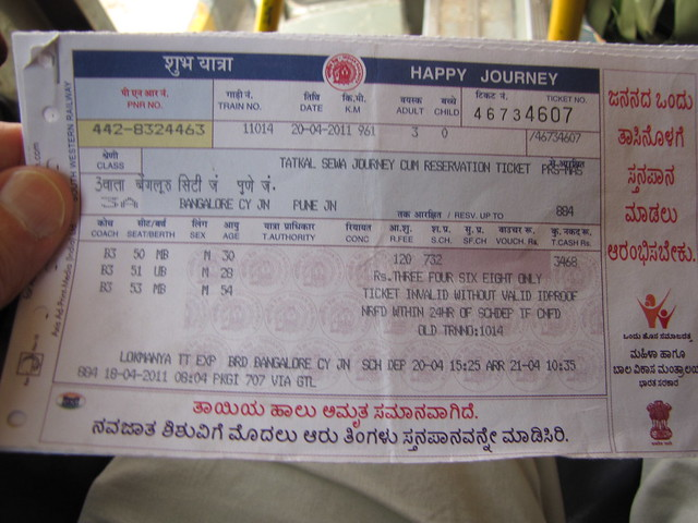 Now book tickets 30 mins before departure with Railways