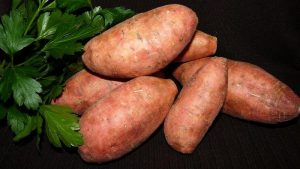 Sweet potatoes for beauty
