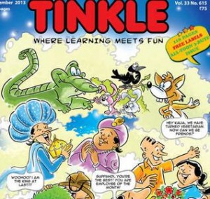 New 13 year old superhero in Tinkle Comics