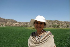 One woman saving lands from 100 villages