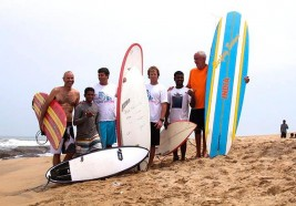 Fisherman's son becomes surfing champion
