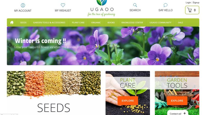 Ugaoo – A perfect place for gardeners